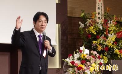 賴清德:台灣與日本是感情像家人般親近的鄰居