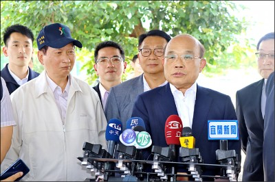 選上總統留在高雄辦公 蘇貞昌批韓國瑜「外行」