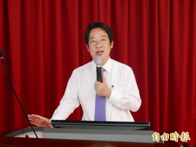 民調追平韓國瑜 賴清德:韓市政未獲支持更遑論總統