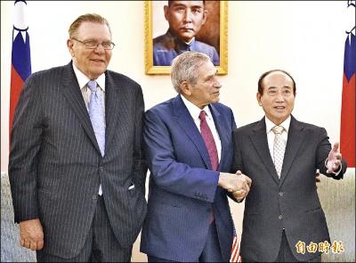 駁韓國瑜、郭台銘主張 王金平提國防「三要」