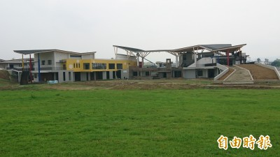 台南西拉雅管理處建築吸睛 年底竣工