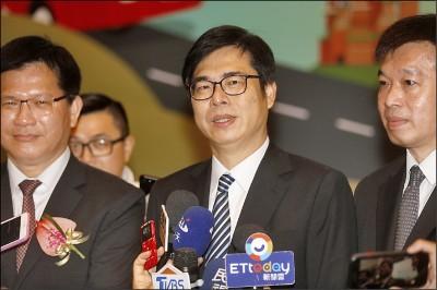 韓國瑜有市長補選人選 陳其邁訝異:他要離開了嗎