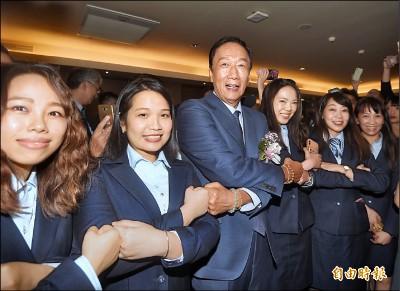 赴電電公會演講 郭台銘:你們都是國家隊
