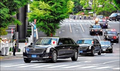 川普二訪日本 令和首位國賓