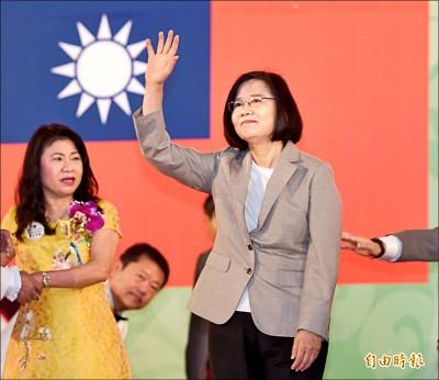 會獅友 蔡:讓世界不可忽視台灣存在