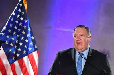 中共的形狀?美國務卿:華為是中國政府的工具