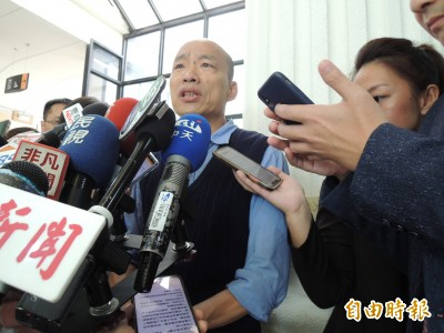 韓國瑜6/1北上凱道 檢警群眾運動處理小組待命