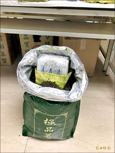 刑事局抄4百公斤安毒 大盤市價逾6億元