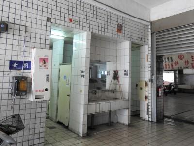 富岡漁港公廁老舊惡臭 台東縣府將花360萬蓋新的
