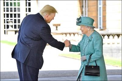 川普會女王 抵英前批倫敦市長魯蛇