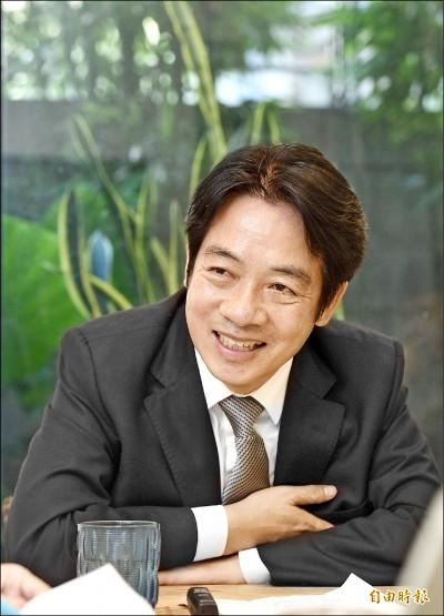 「我是黨內最強的候選人」 賴:清流勝韓流,台灣免憂愁