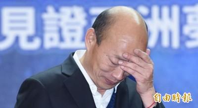 韓國瑜2020能贏30萬票?蔡正元預測被轟「作夢」