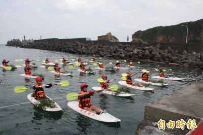 野柳學童請命  萬里海王星碼頭成立保育區