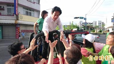 賴清德壯大台灣車隊遊行  旋風掃過新營