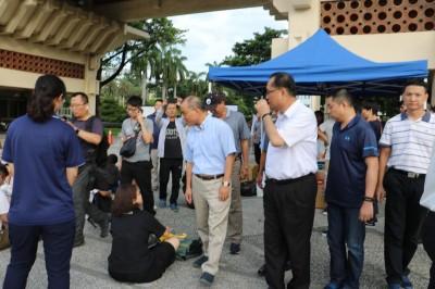 高雄反香港逃犯條例集會人數續增 葉匡時傍晚快閃現場