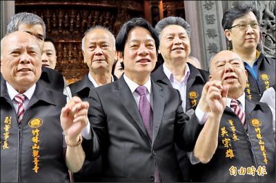 賴呼籲中國 撤除送中惡法