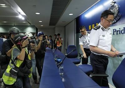 反送中》求助解放軍? 香港警方:「目前」不會