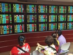 電子股走弱 台股跌36點收10524.67點