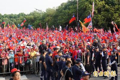 破12萬人?韓國瑜回雲林娘家造勢 警估「這人數」…
