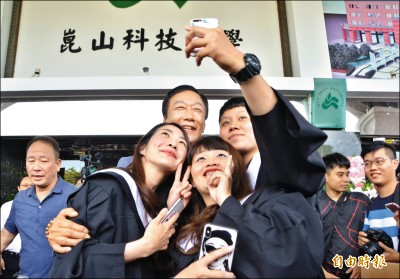 郭:台灣不需要「中奸媒體」