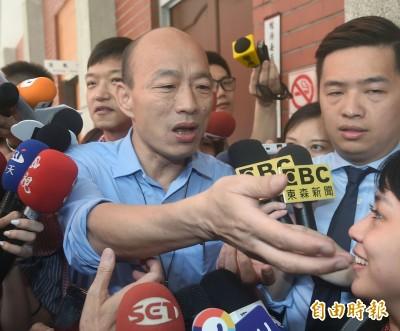 韓國瑜北上立法院 協助爭取登革熱補助
