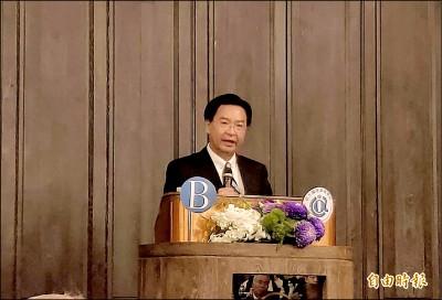 吳釗燮︰北京獨裁主義在港擴張