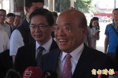 郭說當選要換掉他…蘇貞昌反擊:國民黨初選文化見怪不怪