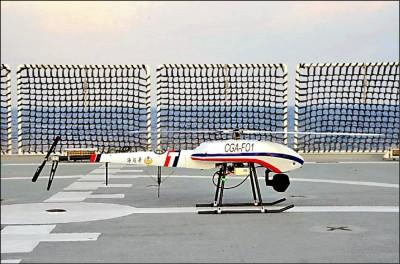 無人機首協防 海巡水砲驅離中國抽砂船