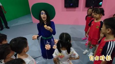 會唱會跳的雕像在蕭壠動起來 劇場展覽超有趣
