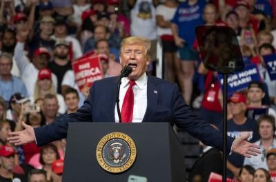 「讓美國繼續偉大!」 川普正式宣布競選連任