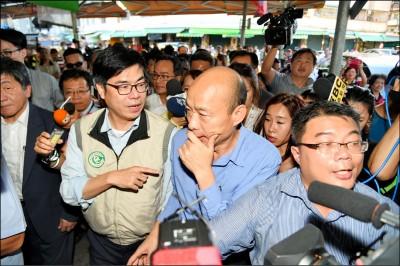 韓國瑜當市長竟問陳其邁疫情 市民搖頭