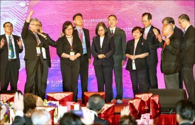 蔡英文:宗教自由是台灣關鍵影響力