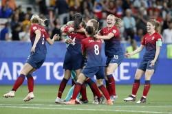 女足世界盃》南北半球大對決 挪威女足12碼PK氣走澳洲