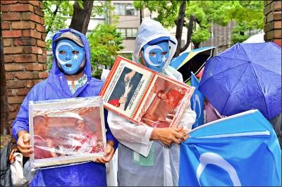 維族港人接力抗議 G20三萬警護習近平