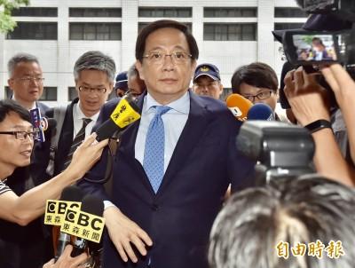 赴公懲會公開受審 管中閔:這些都是「政治追殺」