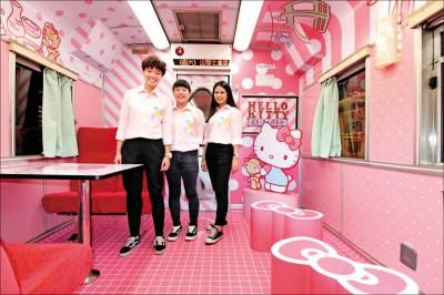 台鐵Hello Kitty陪環島