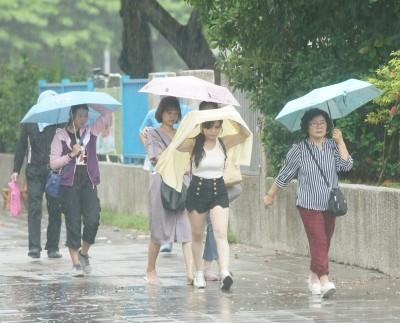 颱風附隨環流影響 吳德榮:中南部雨下到下週