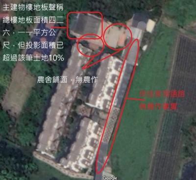 韓國瑜夫婦豪華農舍沒農地 確定主建物也是違建