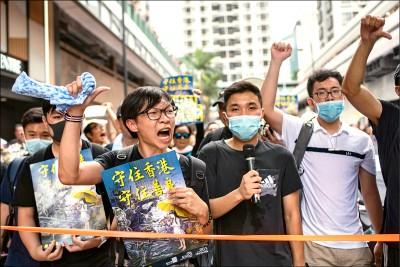 從政治到民生議題 示威遍地開花 要中國別惹香港人