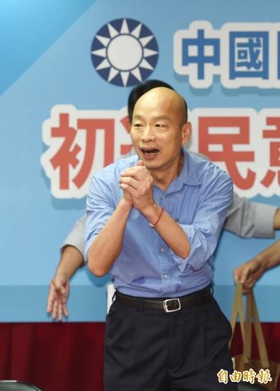 韓國瑜勝出》黨政人士:蔡保台與韓親中路線之爭