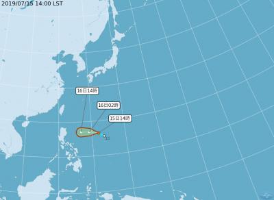 輕颱丹娜絲明生成機率大 氣象局:不排除直撲台灣
