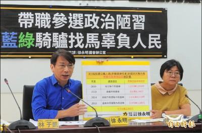 禁止靠選舉發大財 時力提案增訂「韓國瑜條款」