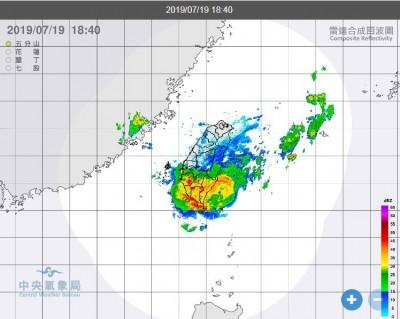 氣象局續發警報!高屏台南晚間注意大雷雨
