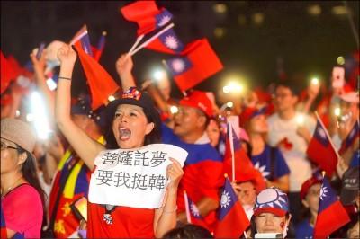 總統大選布局》藍營15縣市長 全力輔選再掀韓流