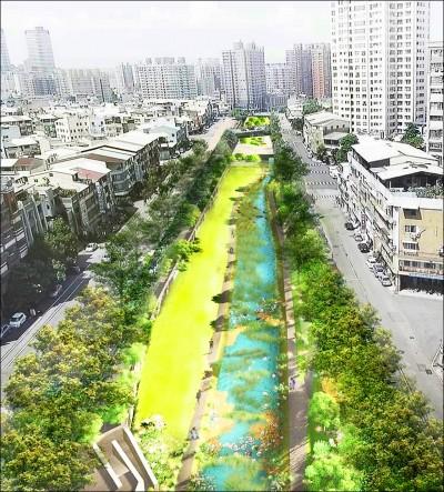 台中》柳川二期工程移植除231棵樹 保留311棵