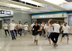 自由開講》白衣人攻擊香港民眾,我們到底要怕哪個『共』?