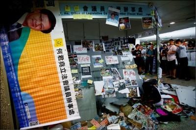 元朗濺血》中國撐腰 三合會代勞法外管治
