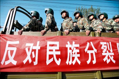 中國反恐 自誇5年逮1.3萬新疆人