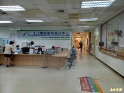 中山高豐原交流道路段7車連環撞 1孕婦受傷送醫