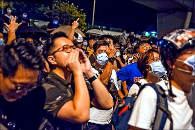 44人涉暴動罪 反送中夜圍警署